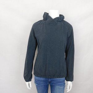 Lululemon After All Ruffle Neck Pullover Size 6